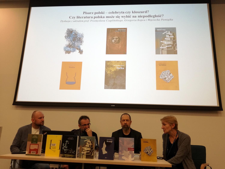 Publicystyka - Literatura w opresji. Debata o sytuacji polskich pisarzy i polskiej literatury