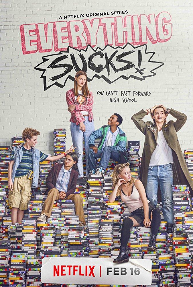 Publicystyka - Dla podstarzałych nastolatków. Recenzja serialu Everything sucks.