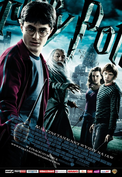 Okładka publicystyki dla Harry Potter i Książę Półkrwi: dyskretny urok odcieni szarości z kategorii Brak kategorii