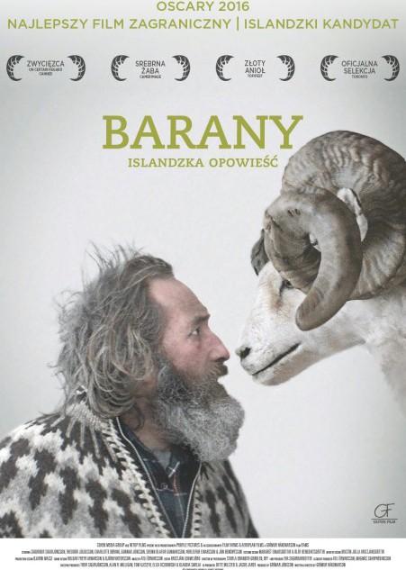 """Okładka - Nie dla baranów. Recenzja filmu """"Barany. Islandzka opowieść"""""""