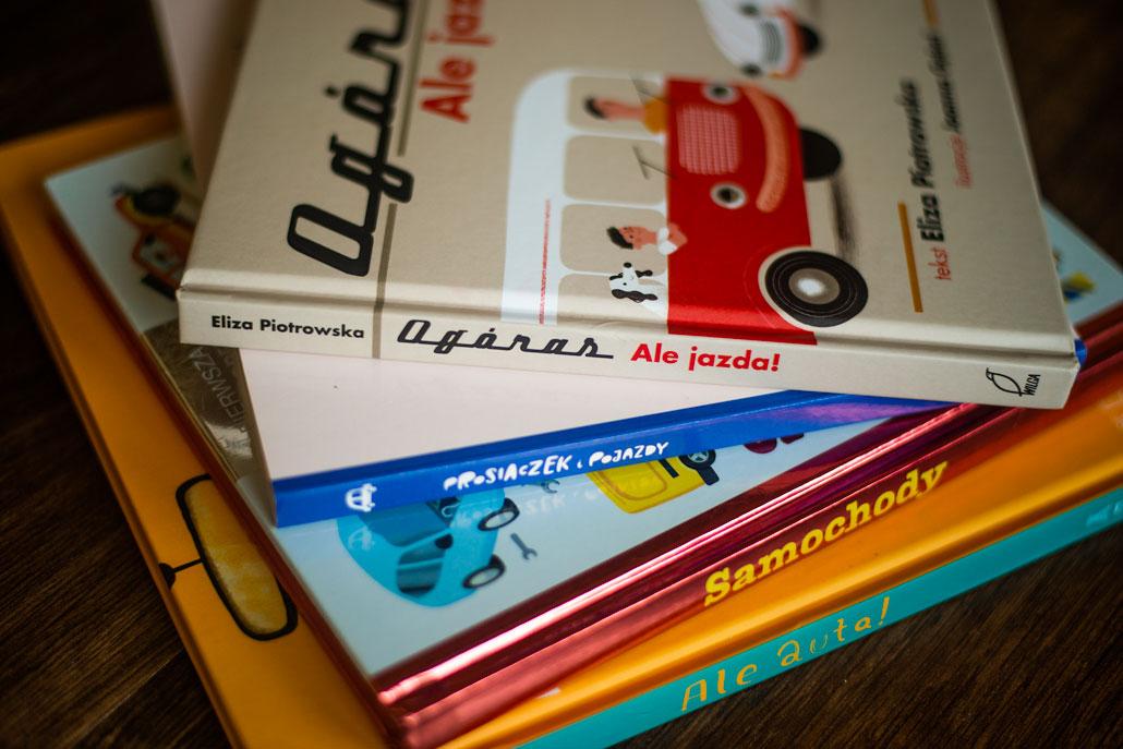 Publicystyka - 5 książek dla małych miłośników samochodów