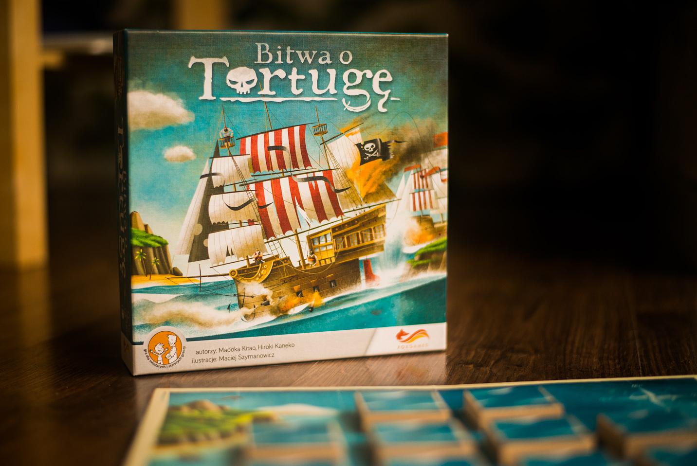 """Publicystyka - Gra w okręty inaczej. Recenzja gry planszowej """"Bitwa o Tortugę"""