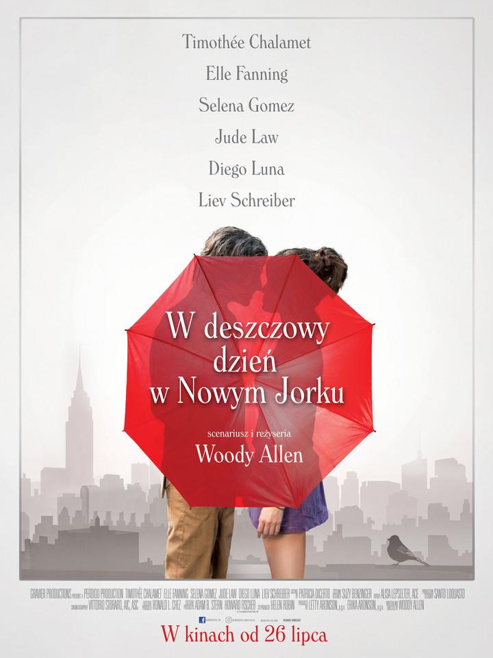 """Publicystyka - Życie jak kino. Recenzja filmu """"W deszczowy dzień w Nowym Jorku"""