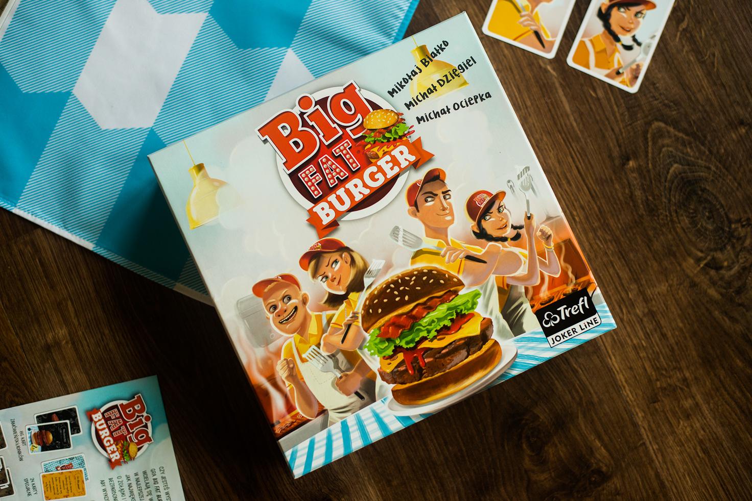 """Okładka publicystyki dla Nie dla wegetarian. Recenzja gry planszowej """"Big Fat Burger"""