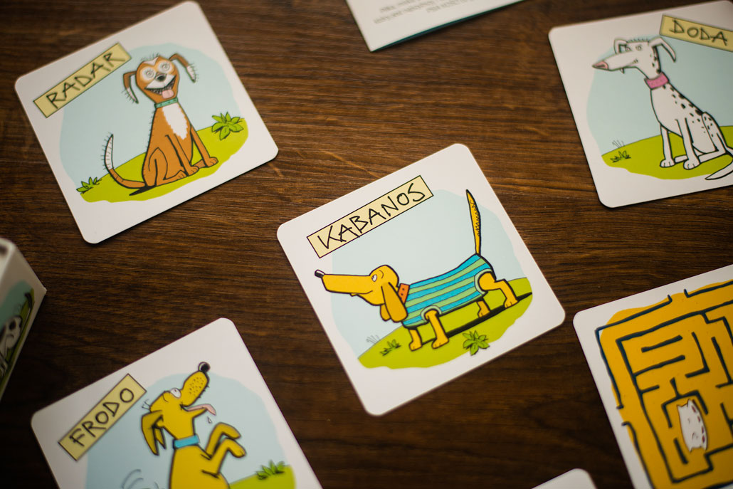 Publicystyka - Psia kość! Recenzja gry z ilustracjami Andrzeja Mleczki