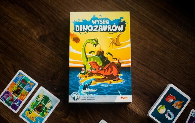 Publicystyka - Przed wyginięciem… Wyspa dinozaurów – recenzja gry planszowej