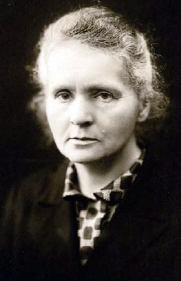 Okładka - Skromna noblistka. Portret Marii Curie-Skłodowskiej