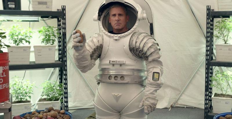 """Publicystyka - Kosmos jest ciężki. Recenzja serialu """"Siły kosmiczne"""