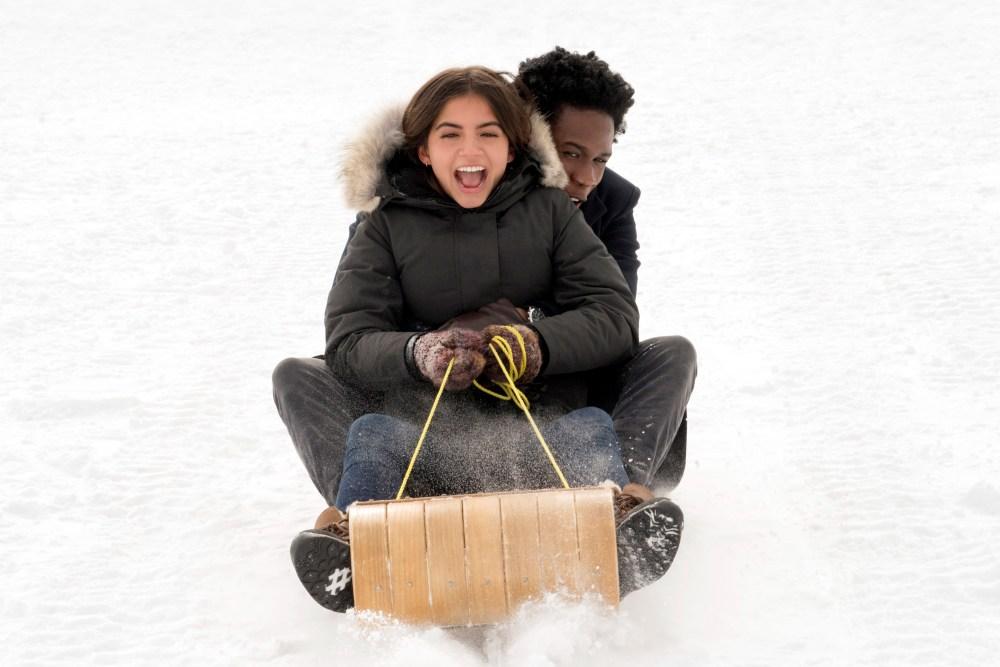 """Publicystyka - Kiedy spadnie śnieg. Recenzja filmu """"W śnieżną noc"""""""