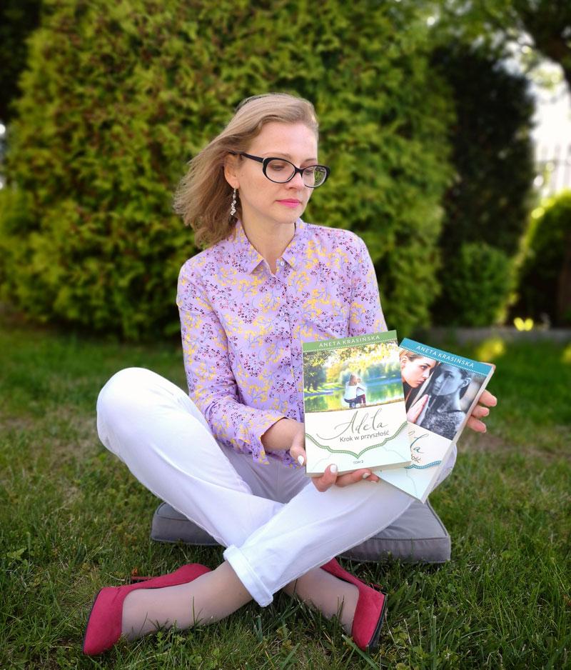 Publicystyka - Życie zaskakuje. Wywiad z Anetą Krasińską