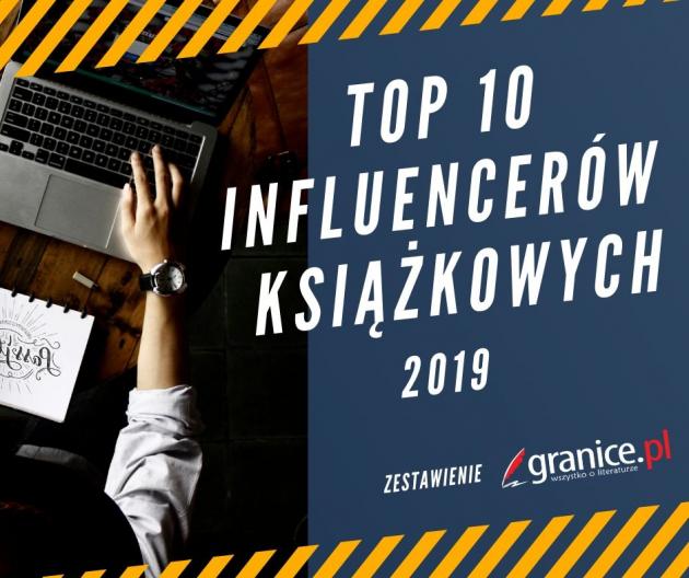 Okładka publicystyki dla TOP influencerów książkowych 2019 – zestawienie najlepszych blogerów książkowych z kategorii Brak kategorii
