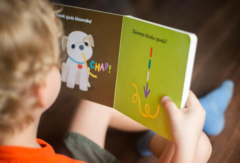 """Publicystyka - Fizyka dla dzieci. O serii """"Bobas odkrywa naukę"""