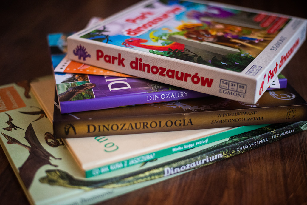 Publicystyka - 5 książek o dinozaurach dla małych czytelników